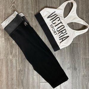 Victoria's Secret Cropped Yoga Capri Legging